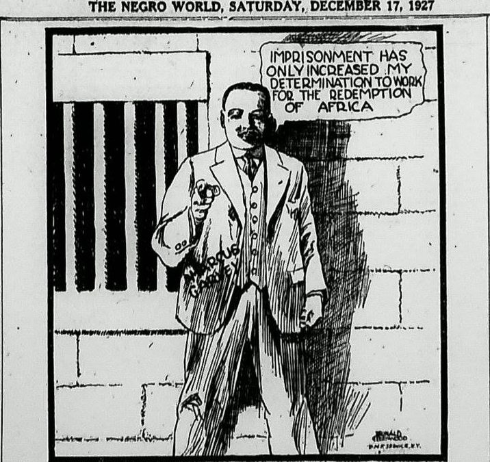 First Message to the Negroes of the World from Atlanta Prison Tuesday, February 10, 1925
